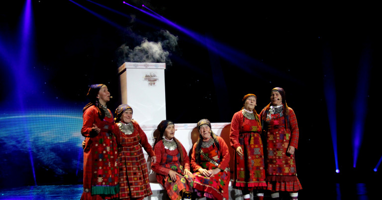 Buranovskiye Babushki - 'Party For Everybody' (Russia 2012)