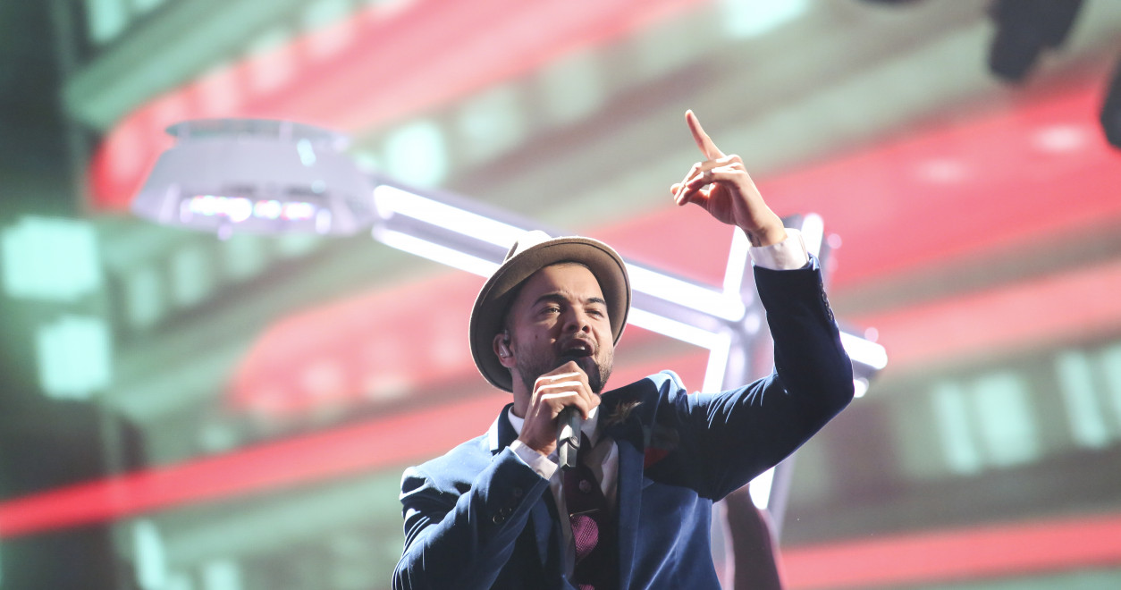 Guy Sebastian achieved 5th place in the final of the Eurovision Song Contest 2015