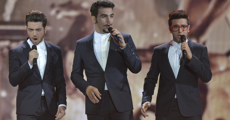 Il Volo won Sanremo 2015 and represented Italy at the 2015 Eurovision Song Contest in Vienna