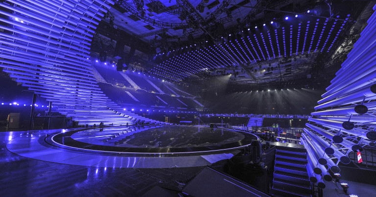 This year's Eurovision stage