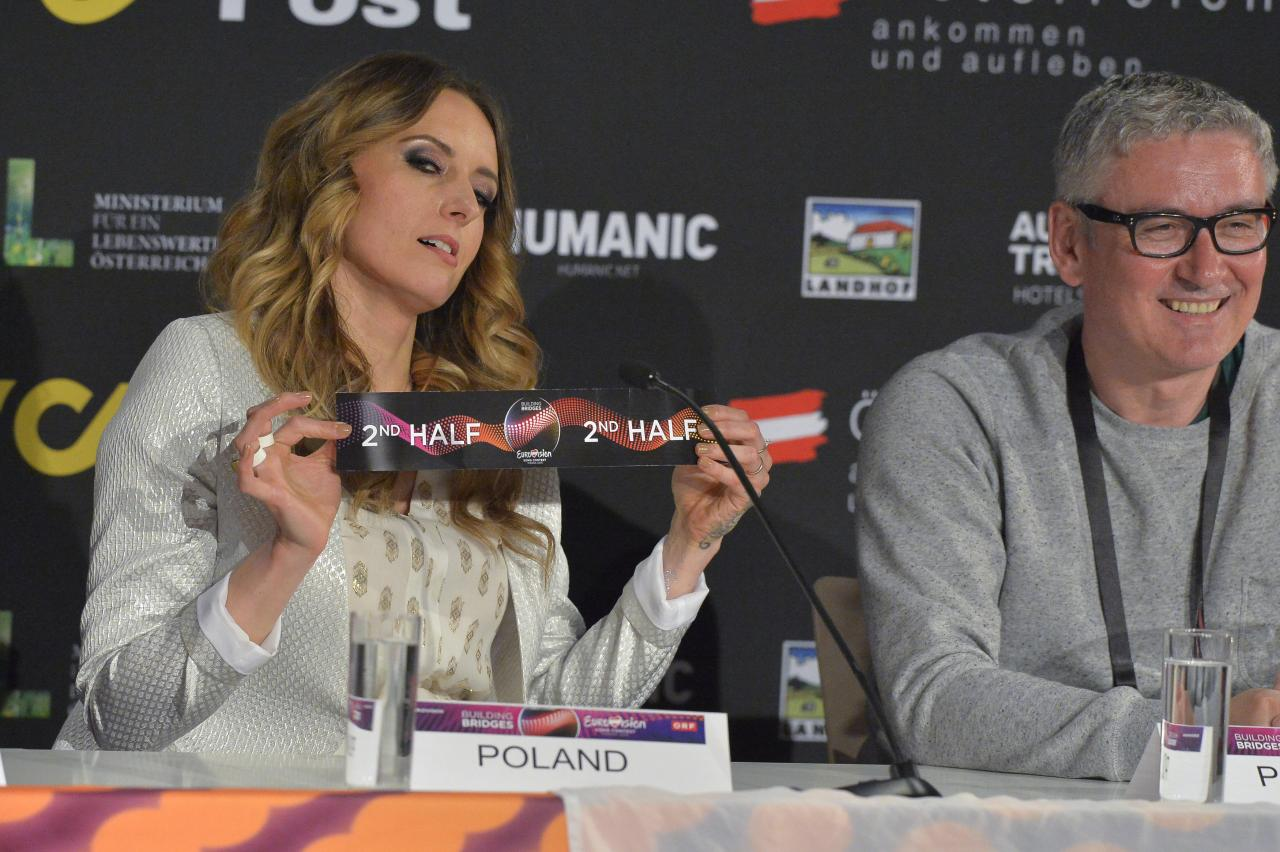 Monika from Poland chose the 2nd half of the show for Poland.