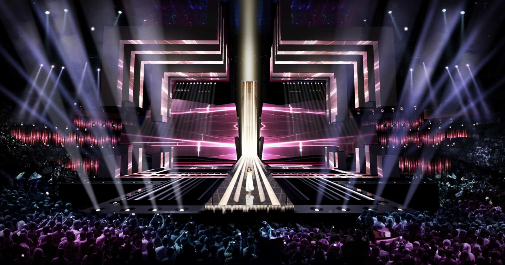 Stage design for the 2016 Eurovision Song Contest