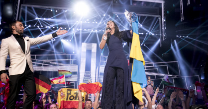 The winner of the 2016 Eurovision Song Contest