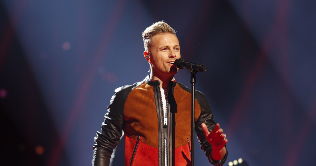 Westlife star Nicky Byrne represented Ireland at the Eurovision Song Contest in 2016