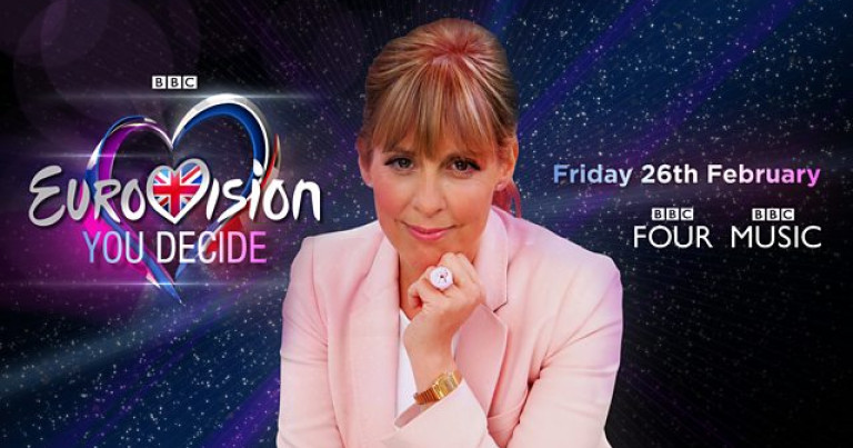 Mel Giedroyc presents Eurovision: You Decide