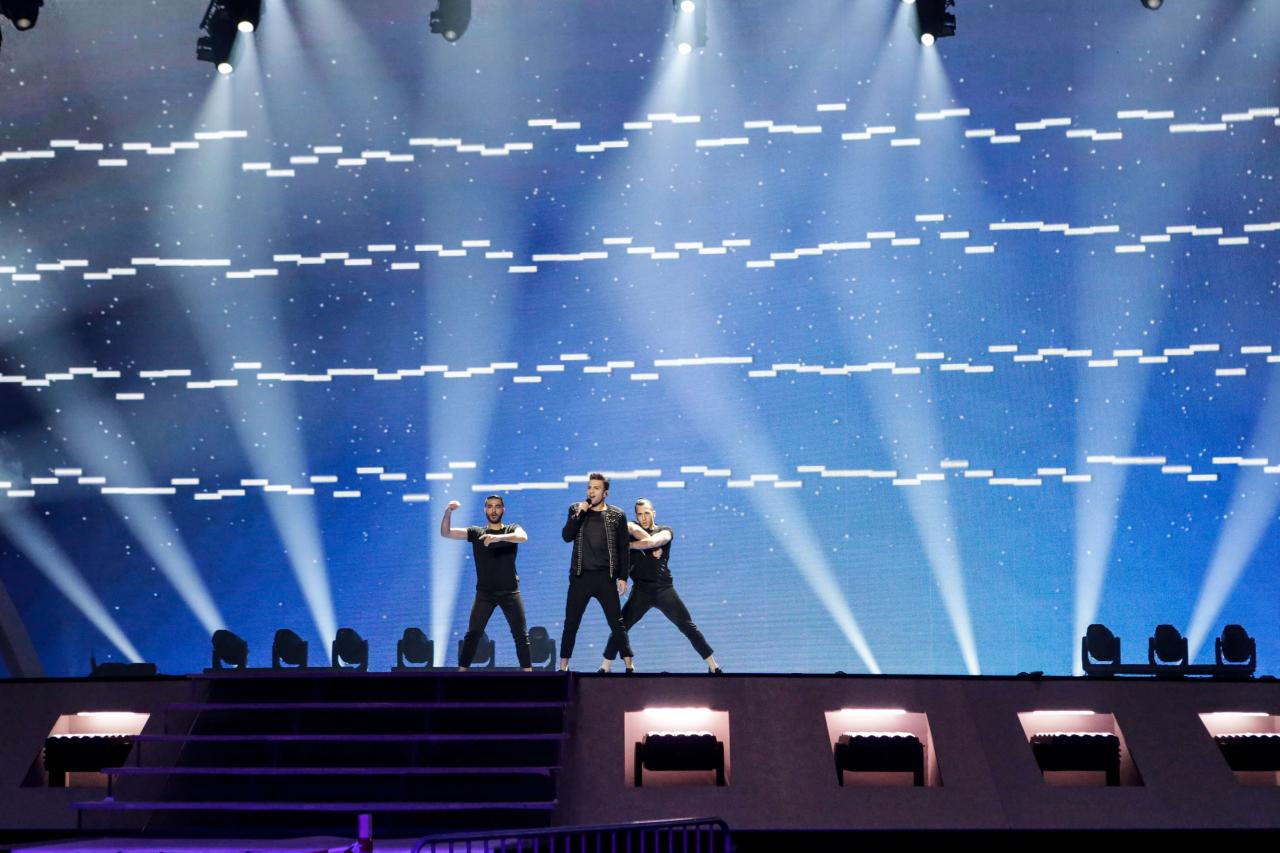 Cyprus first rehearsal