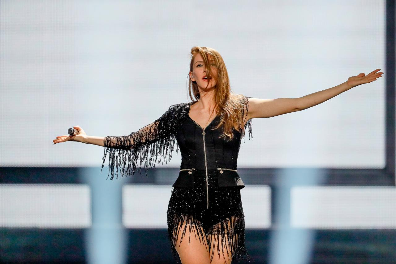 Jana Burčeska brought 'Dance Alone' to the Eurovision stage in 2017