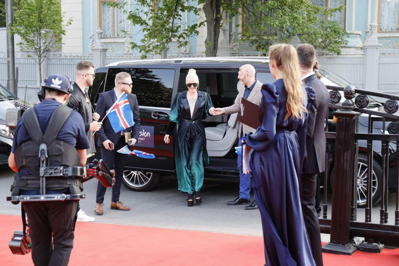 Red Carpet of the 2017 Eurovision Song Contest.