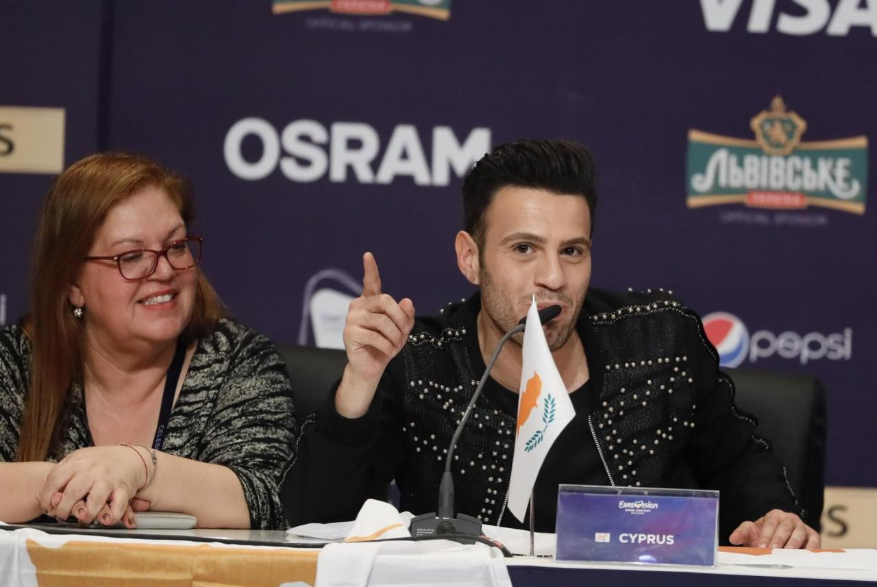 Some of the qualifiers from the first Semi-Final of the 2017 Eurovision Song Contest.