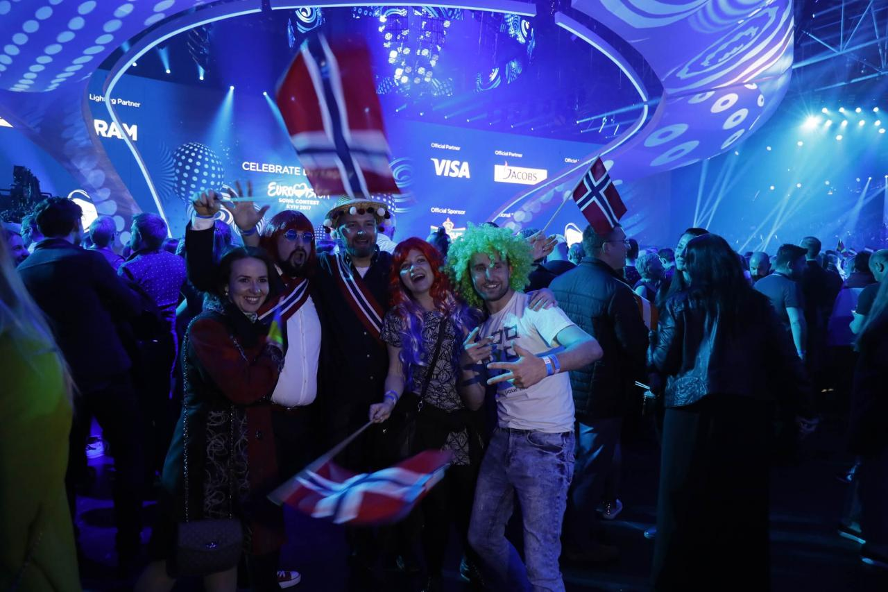 Atmosphere just before the second Semi-Final of the 2017 Eurovision Song Contest.