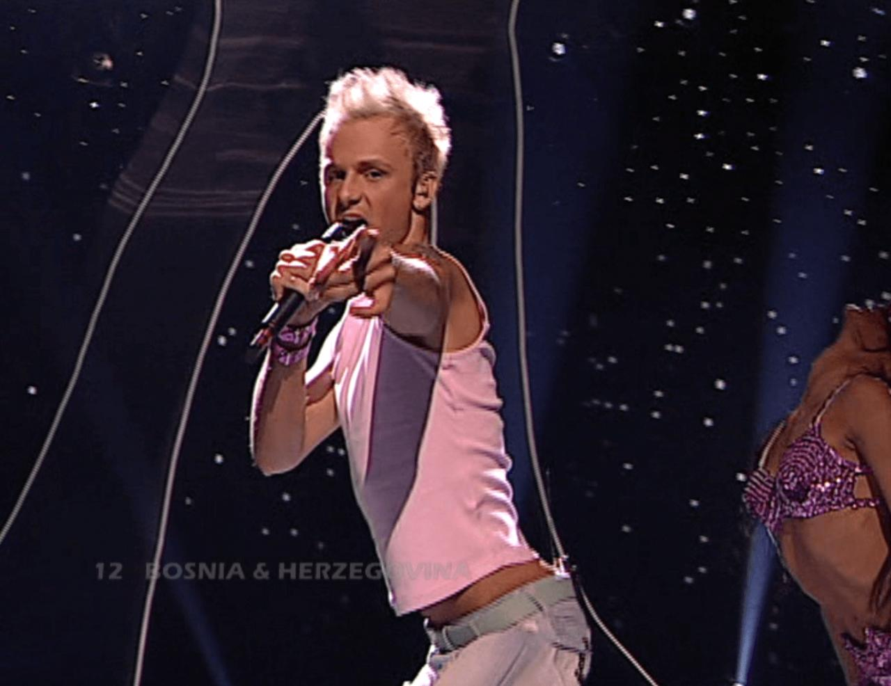 Eurovision stars from the past