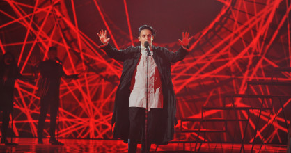Six acts performed in the final of 'Vidbir', The Ukrainian selection for the Eurovision Song Contest