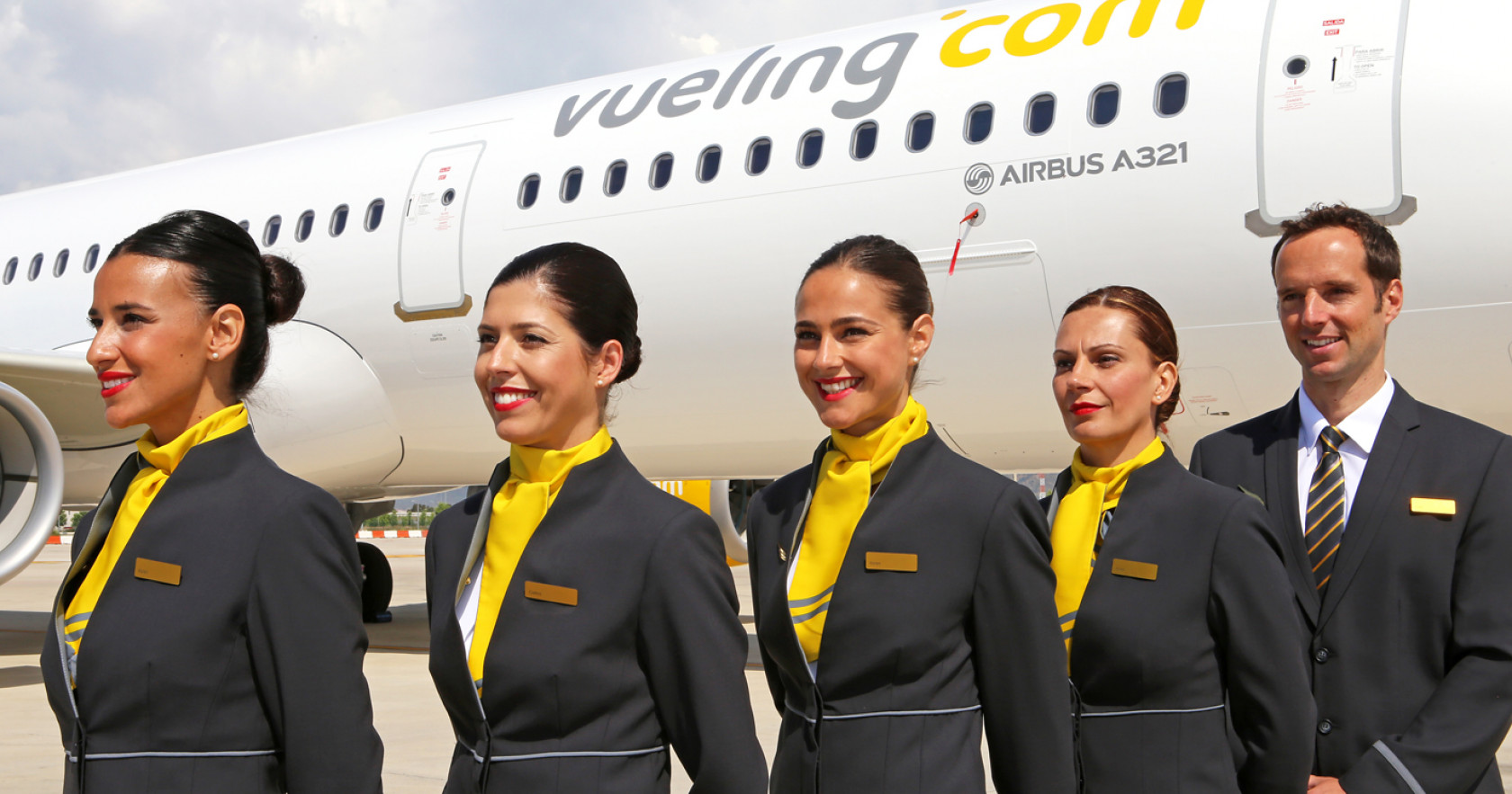 Vueling Airlines partners with the 2018 Eurovision Song Contest.