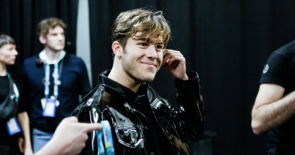 Benjamin Ingrosso, Sweden's 2018 Eurovision Song Contest participant