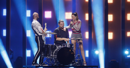 The jury show of the first Semi-Final of the 2018 Eurovision Song Contest.