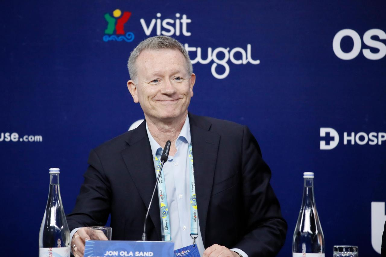 EBU press-conference in Lisbon 2018