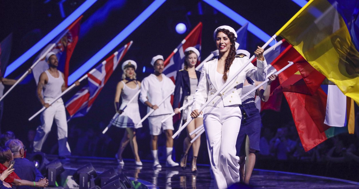 Jury show of the Grand final of the 2018 eurovision song contest