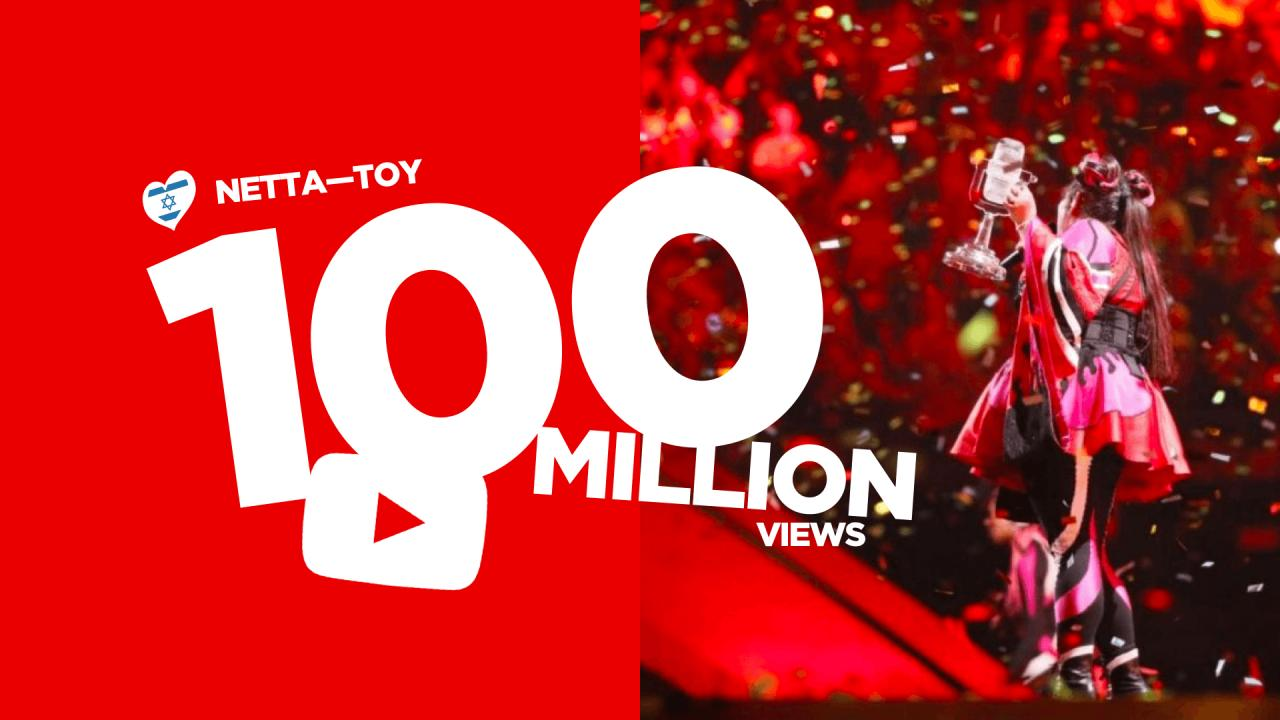 Netta's music video for 'Toy' reaches 100 million views