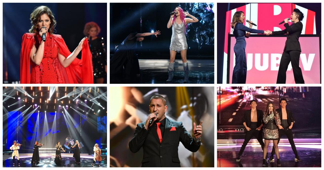 Qualifiers Beovizija 2019 semi-final 1