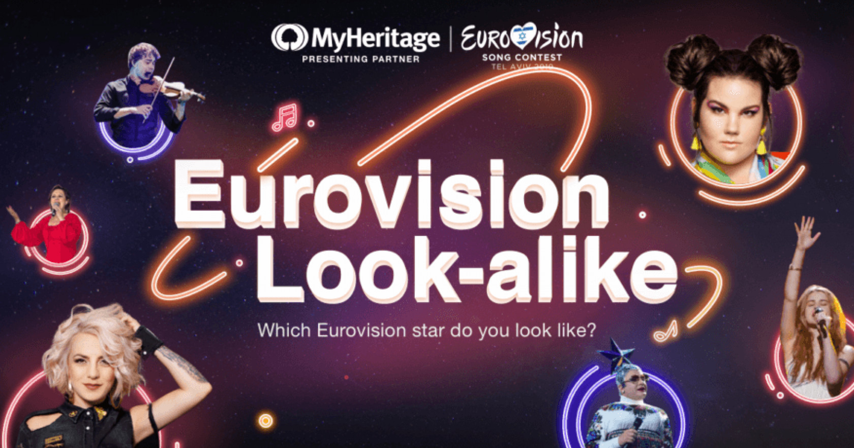 MyHeritage: Eurovision Look-alike