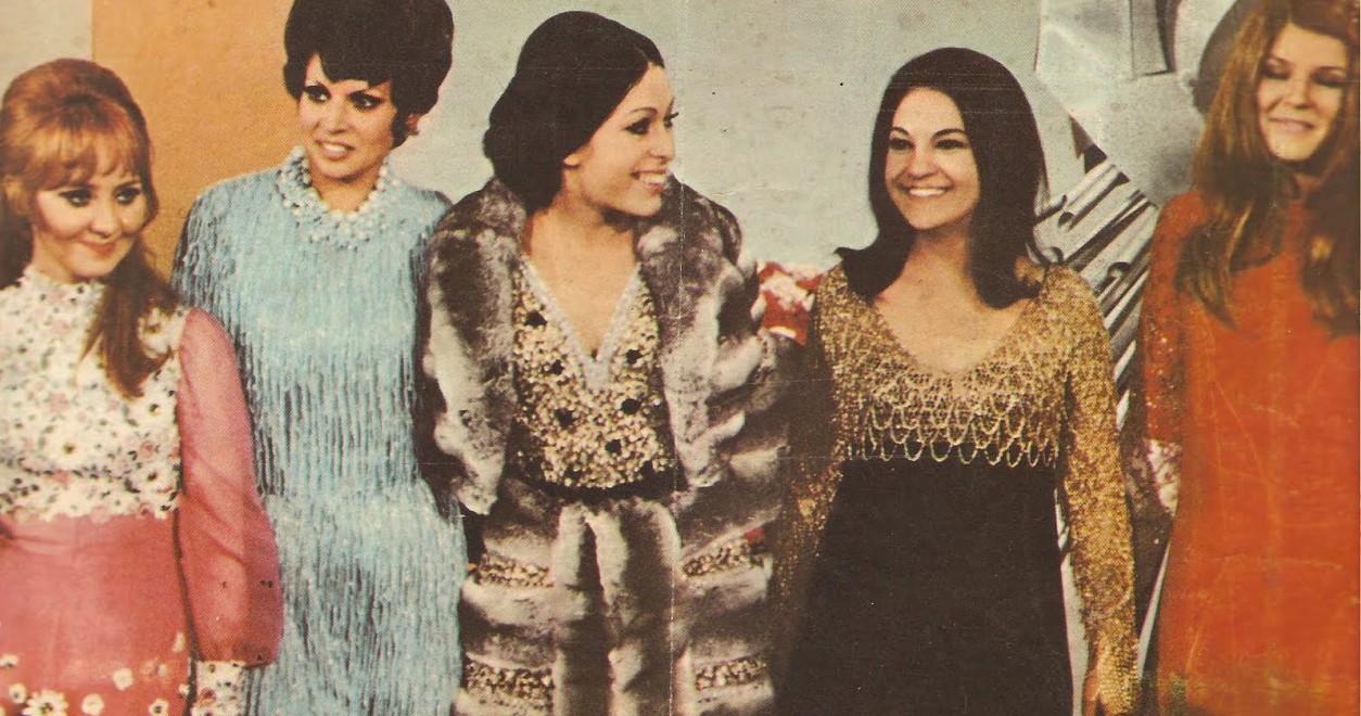 The 60's were a mix of formal and less formal fashion choices, as you could see in 1969