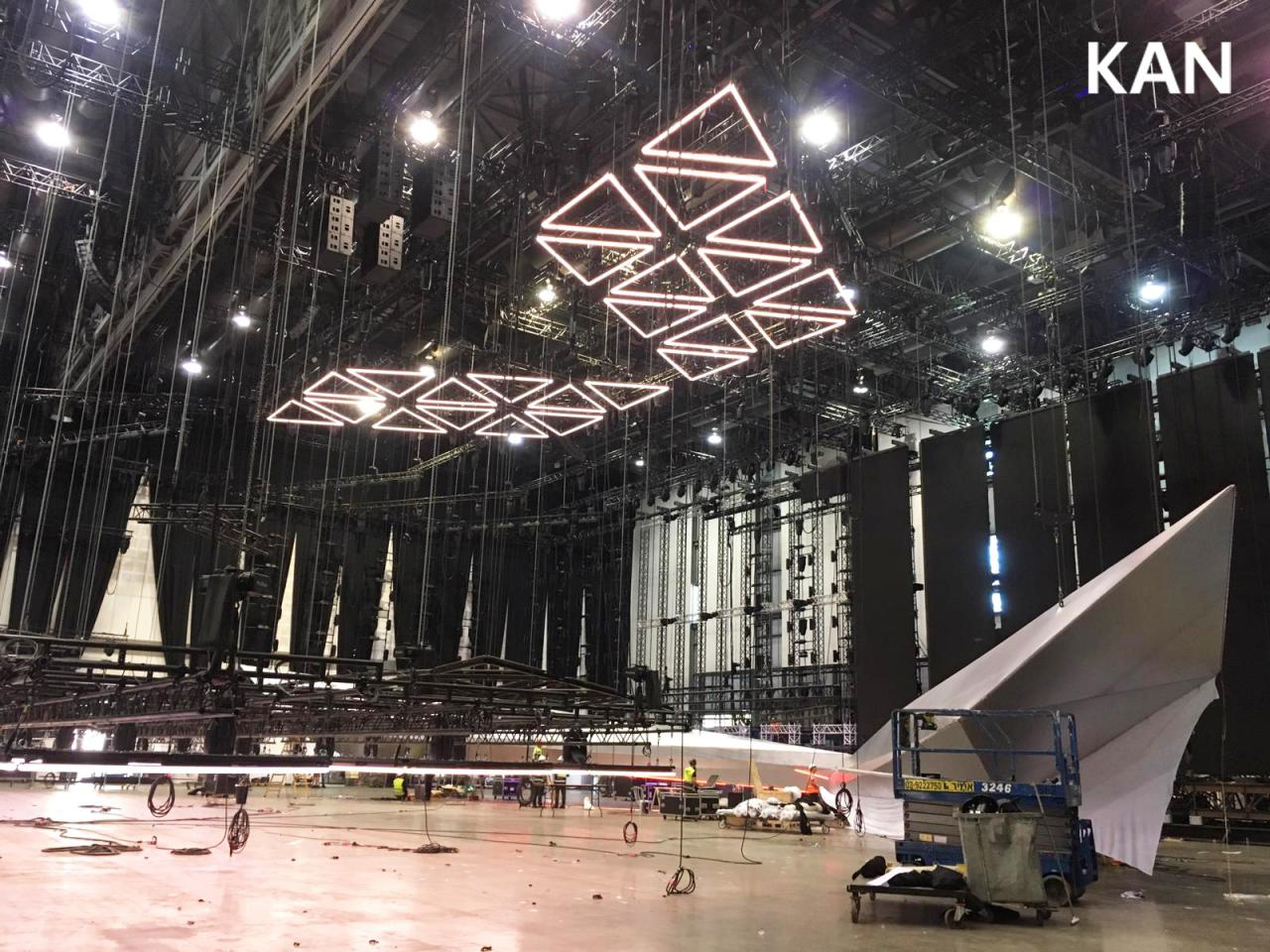 Eurovision 2019 Stage Construction