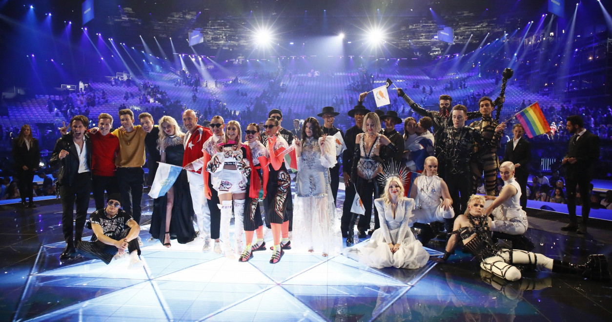 10 acts from the first Semi-Final qualified for Saturday's Grand Final.