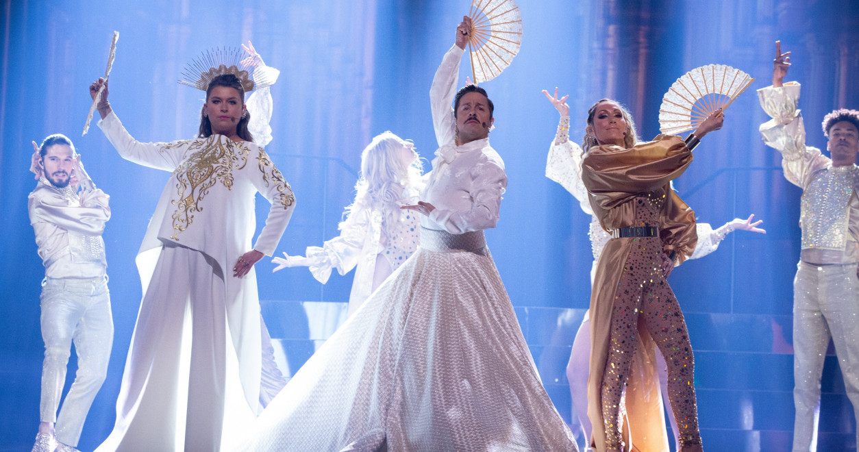 The final of Melodifestivalen 2020 in Stockholm