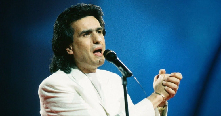 Toto Cutugno winner of Eurovision Song Contest 1990
