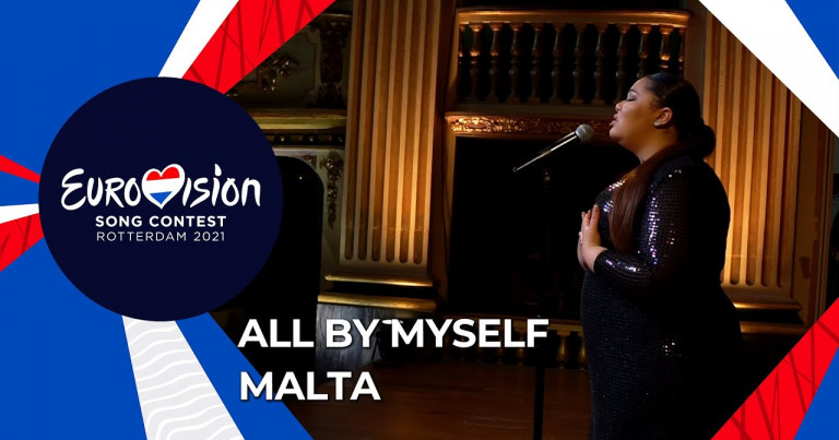 Destiny 🇲🇹 - All By Myself (rendition) at the Manoel Theatre, Malta - Eurovision 2021