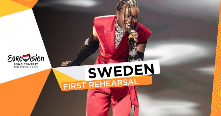 Tusse - Voices - First Rehearsal - Sweden 🇸🇪 - Eurovision 2021